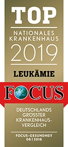TOP Nationales Krankenhaus 2019 Leukämie